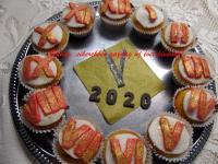 Szilveszteri cupcake