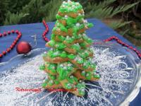 Karácsonyfa - mézeskalácsból