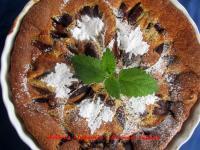 Szilvás clafoutis - francia tejpite