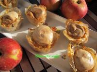 Almásrétes muffin