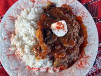 Bakonyi sertésszelet
