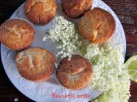 Bodzavirág muffin