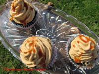Karamellás brownie muffin, liszt nélkül