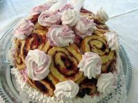 Áfonyás Charlotte torta