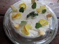 Citrom torta sütés nélkül