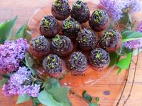 Csokis-epres muffin
