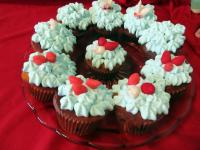 Almás-csokis muffin