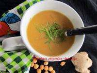 Gyömbéres sárgarépa-krémleves