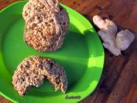 Gyömbéres zabpehely keksz