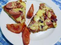 Pizza - kelesztés nélkül