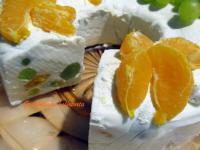 Gyümölcsös kefírtorta
