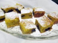 Kukorica prósza, szilvalekvárral