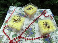 Mákosguba pohárdesszert