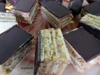 Karamellás-mézes ostya