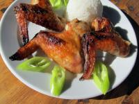 Mézes-mustáros csirkeszárny