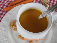 Gyömbéres sárgarépa krémleves