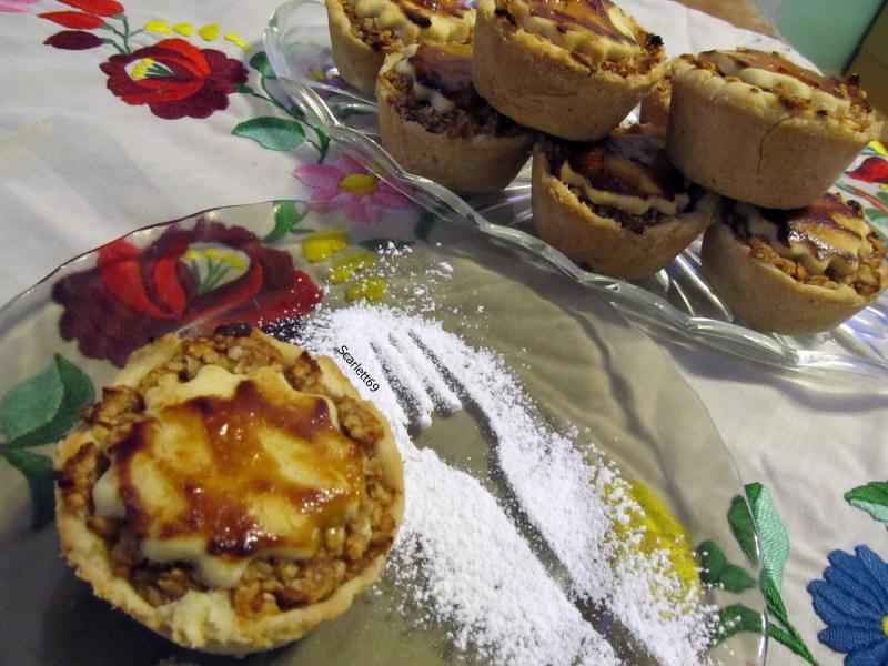 Almás pite muffin