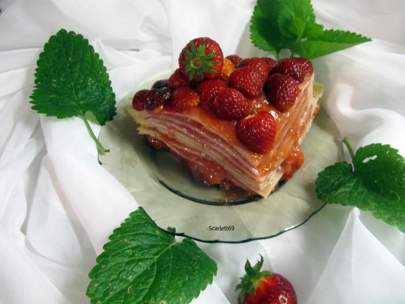 Epres palacsinta torta