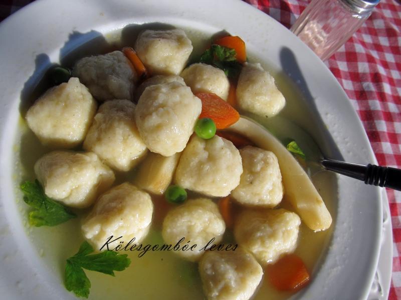 Kölesgombóc leves