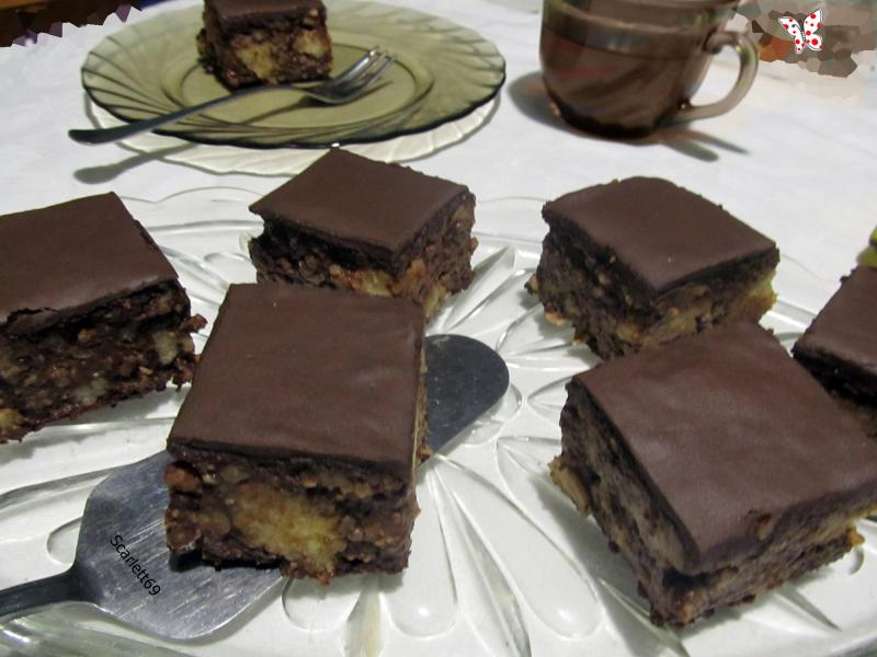 Köles brownie