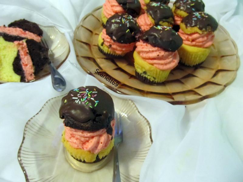 """""""Méteres"""" Cupcake"""