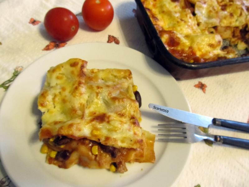 Mexikói lasagne