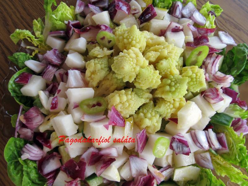 Pagodakarfiol saláta