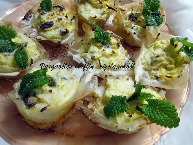 Vargabéles muffin