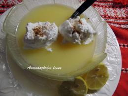 Ananászkrém leves