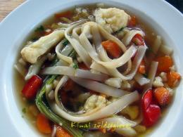 Kínai zöldségleves