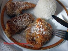 Kókuszbundás csirkemell