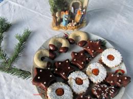 Karácsonyi linzertál