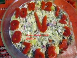 Lencse-korhely saláta