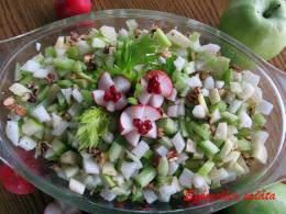 Szárzeller saláta