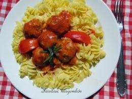 Szicíliai  húsgombóc