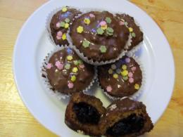 Szilvásgombóc muffin